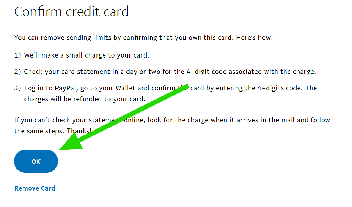 Paypal gửi 4 số code