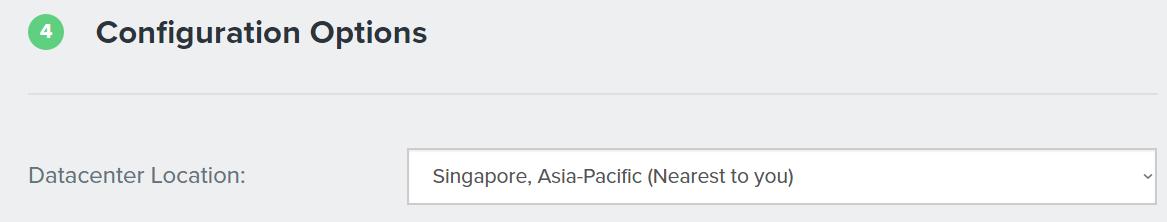 datacenter location Fastcomet