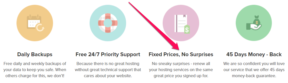 Không tăng giá hosting Fastcomet